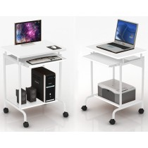 Computer desk ''Compact'' White - Techly - ICA-TB S005W