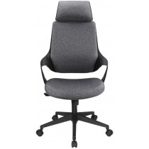 Office Chair with High Modern Design Back Grey  - Techly - ICA-CT MC017