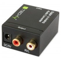 Audio Converter for SPDIF Digital to Analog - Techly - IDATA SPDIF-3
