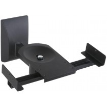 Couple Speakers Wall Brackets up to 25kg Black - Techly - ICA-SP SS201