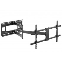 """Wall Bracket Extendable Arm up to 1015 mm for LCD 43-80"""" Black - Techly - ICA-PLB 490"""