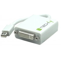 Mini DisplayPort (Thunderbolt) to DVI Adapter - Techly - IADAP MDP-DVIF