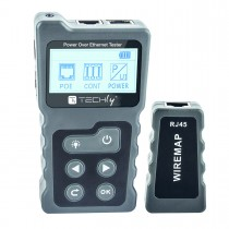 Professional PoE RJ45 Tester - Techly Np - I-CT PRO-POECK