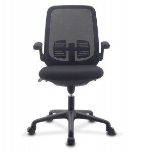 Office Chair Adjustable in Height and Variable Tilt Black