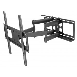 """Dual-arm full-motion wall mount for 32""""-55"""" TVs"""