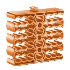 Cable Clip for 24 Cables Orange