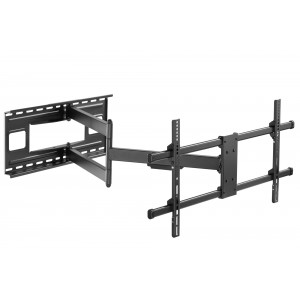 """Wall Bracket Extendable Arm up to 1015 mm for LCD 43-80"""" Black"""