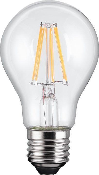 Lampadina LED E27 Bianco Caldo 7W con Filamento...