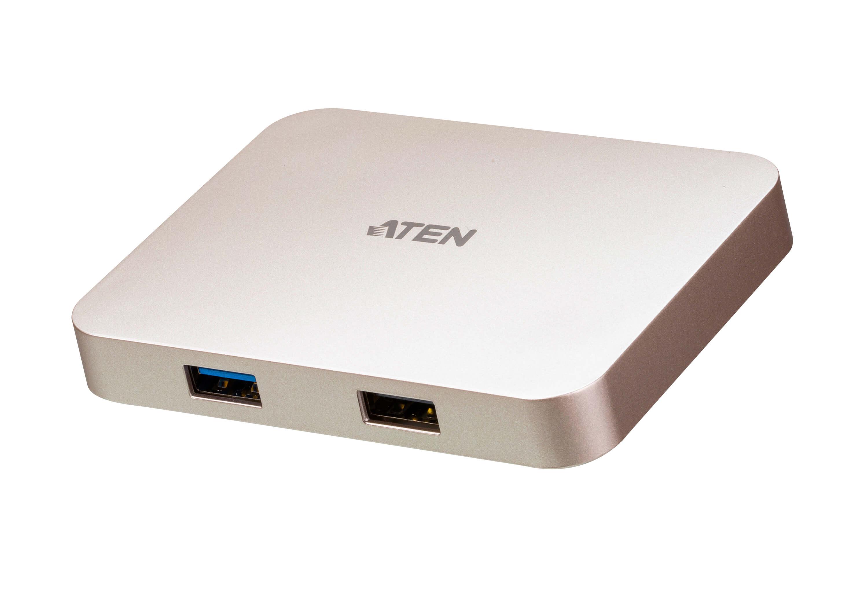 Mini dock ultra USB-C 4K con pass-through dell'...