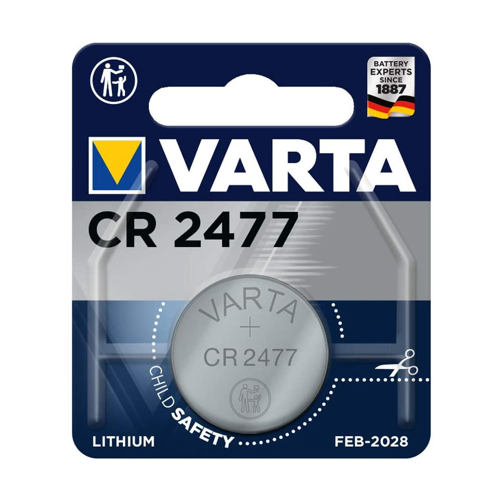 Blister 1 Batteria 3V Litio CR 2477