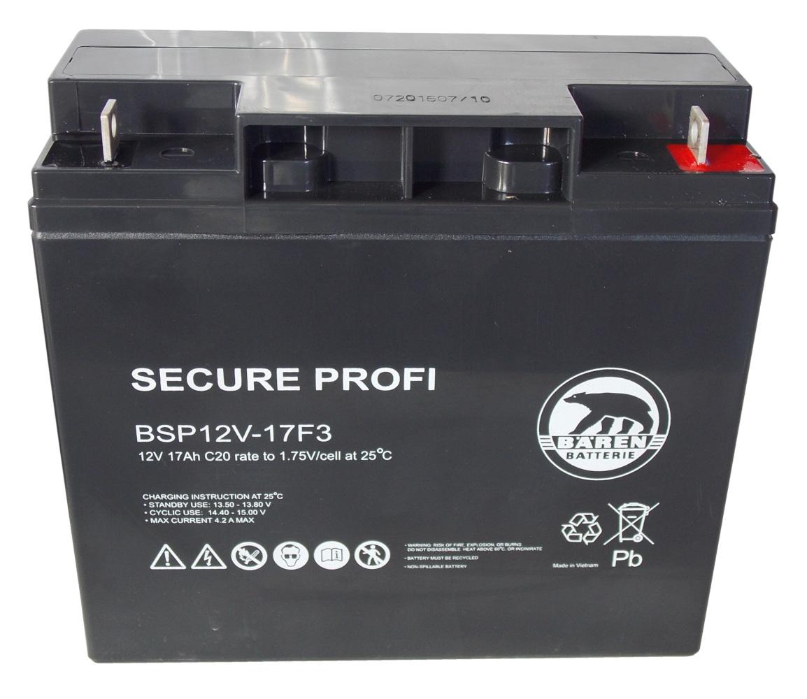 Batteria Piombo-Acido 12V 17,0Ah (Attacco a vit...