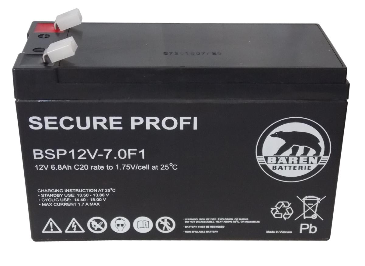 Batteria Piombo-Acido per UPS 12V 6,8 Ah, BSP12...