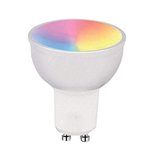 Lampadina LED GU10 Smart Controllo Vocale Alexa...