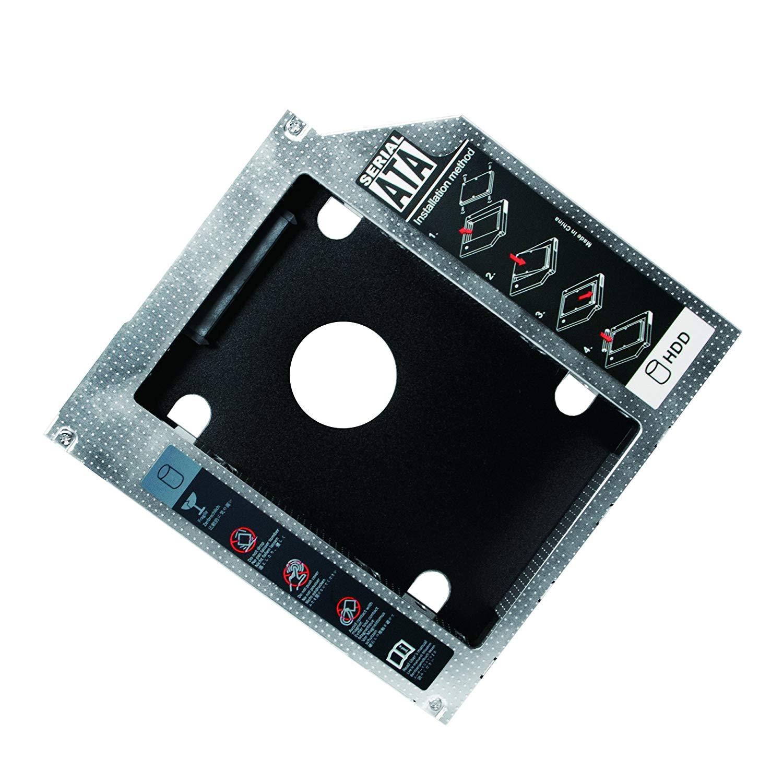 Adattatore SATA HDD Caddy per HDD/SSD da 12,7mm...