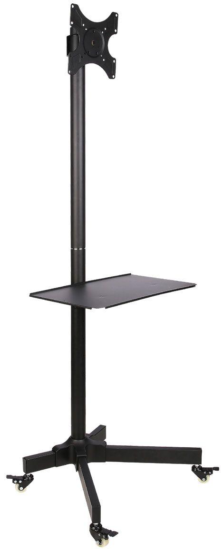 Supporto a Pavimento con Mensola Trolley TV LCD...