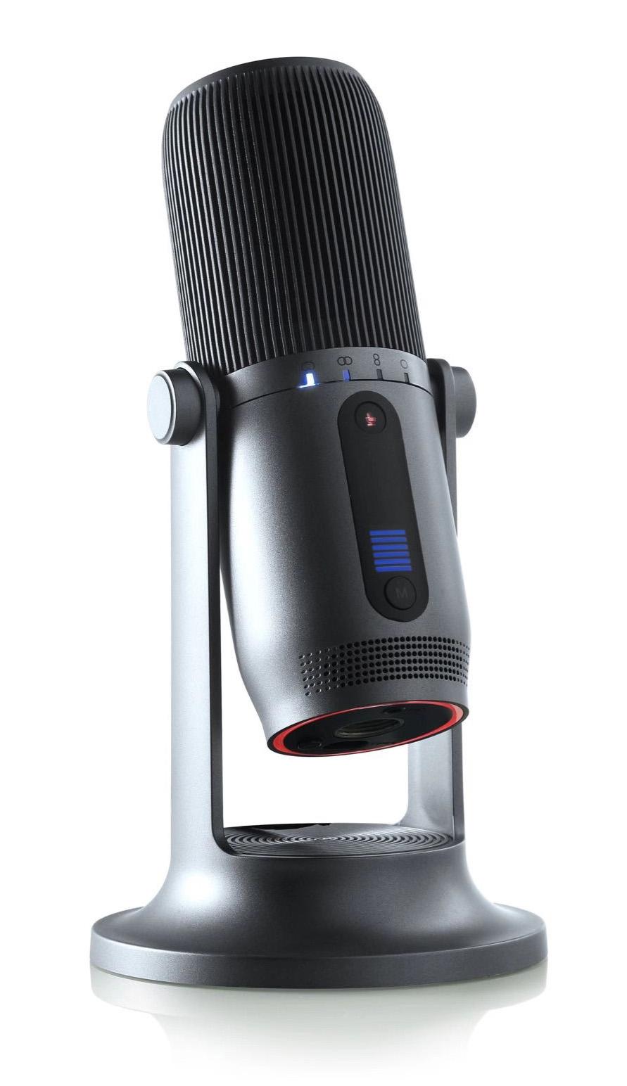 Microfono Professionale a Condensatore 48KHz 16...