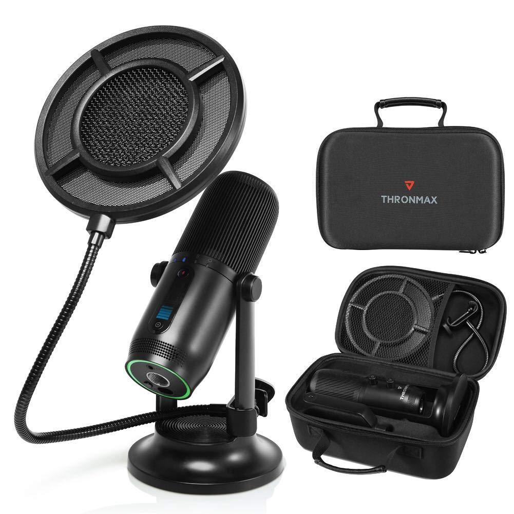 Kit Valigetta Microfono Professionale USB-C&tra...