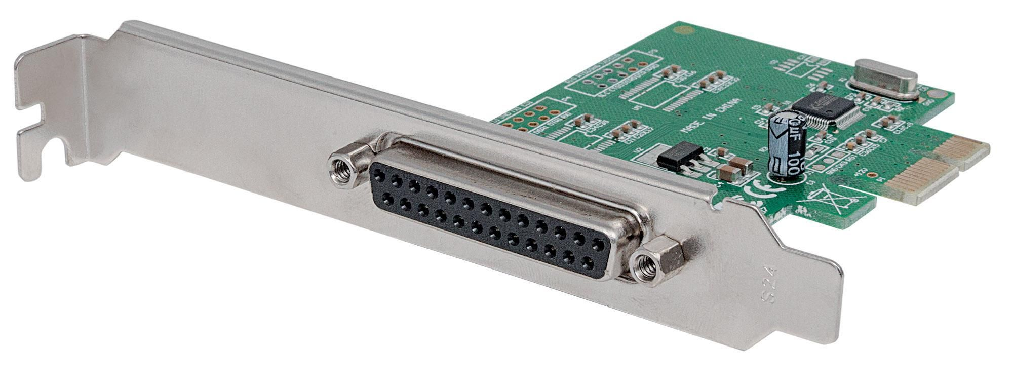 Scheda parallela PCI Express 1 porta
