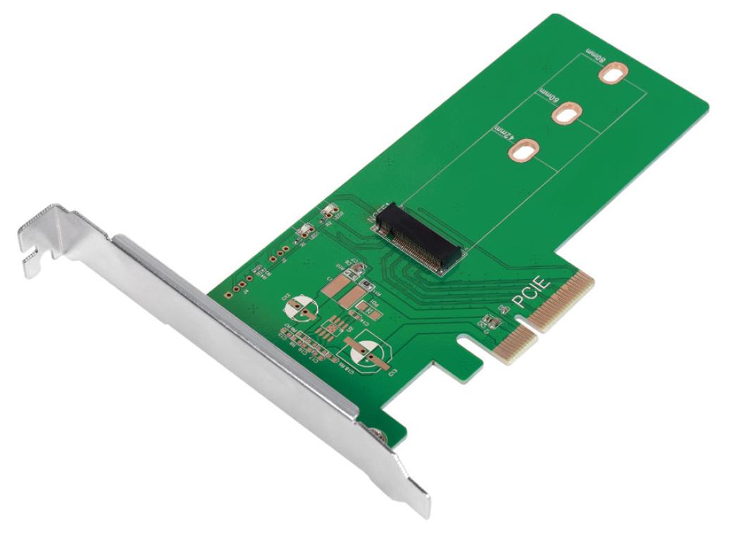 Adattatore da PCIe a M.2 PCIe SSD per SSD PCIe ...