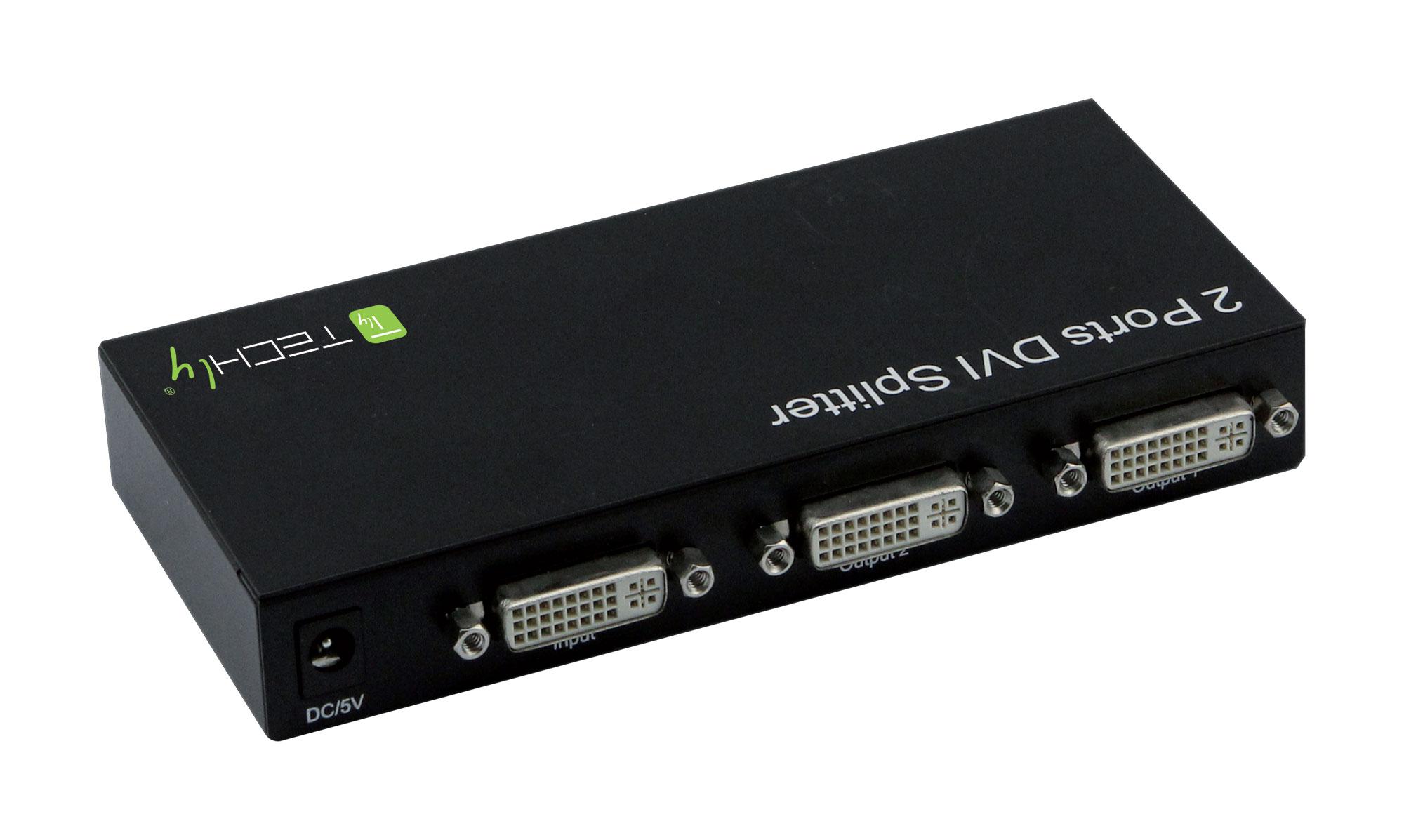 Extender/ Video Splitter 2 Porte DVI 24+5