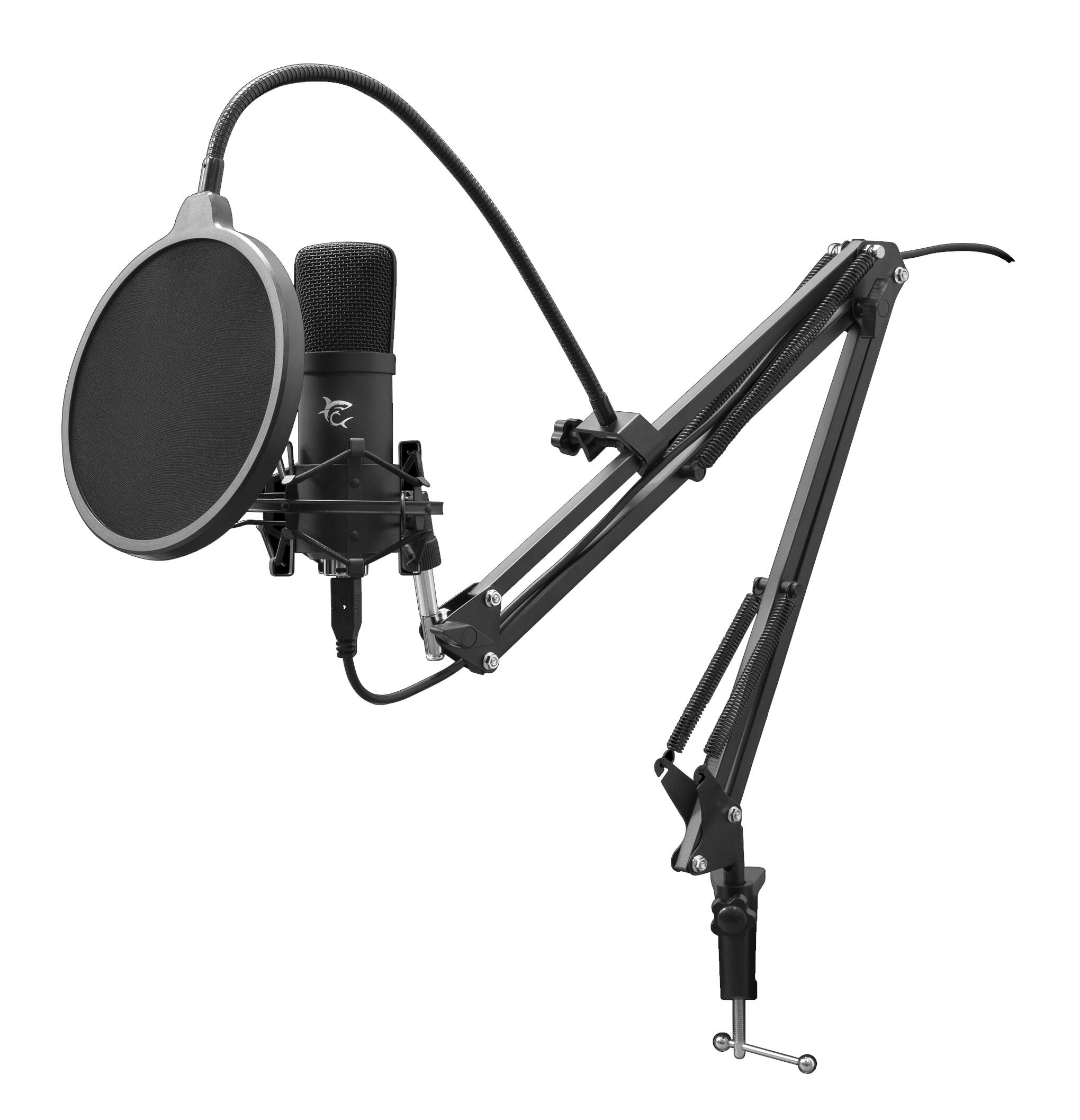 Microfono da Gioco / Podcast con Stand DSM-01 Z...