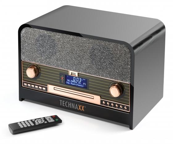 Radio DAB e FM con LCD Lettore CD e USB, TX-102