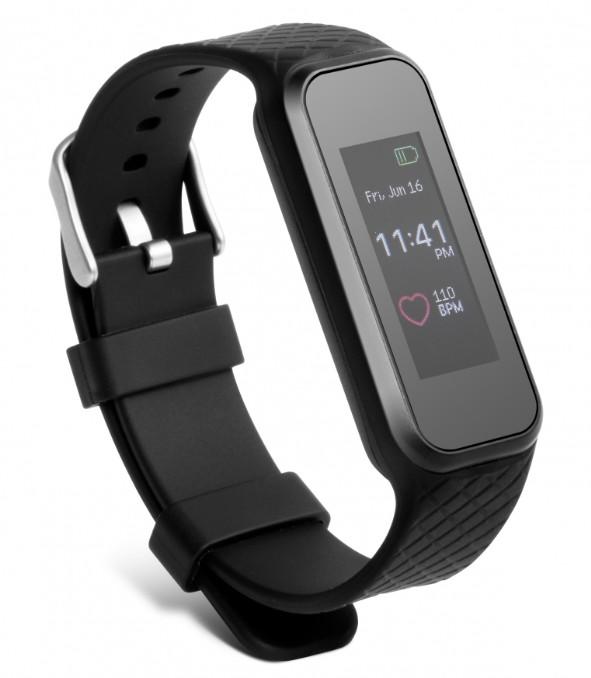 Bracciale Fitness Bluetooth 4.0 con Cardiofrequ...