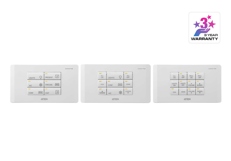 Sistema di controllo ATEN: Pad di controllo 12 ...