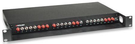 Cassetto Ottico 19'''' con 24 bussole ST Nero