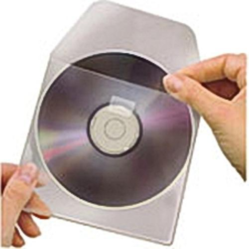 Buste Porta CD/DVD in PPL 100 Micron Con Aletta...