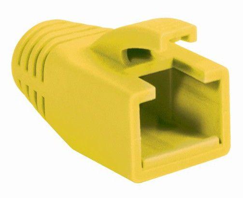 Copriconnettore per Plug RJ45 Cat.6 8mm Giallo