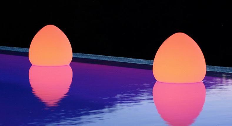 Lampada LED Multicolor da Arredo Rock