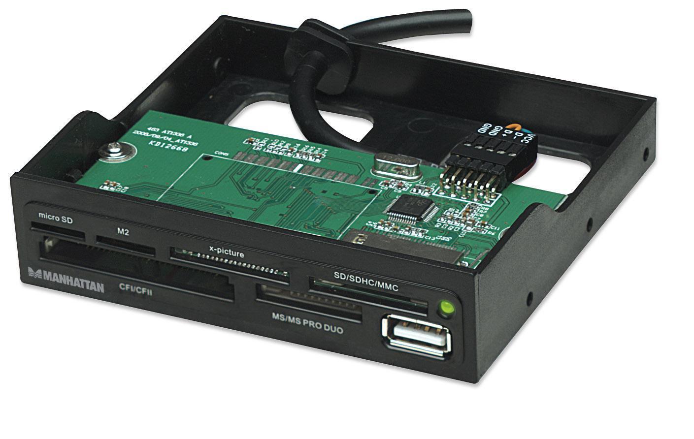Lettore interno 60 in 1 interno USB 2.0 Nero al...