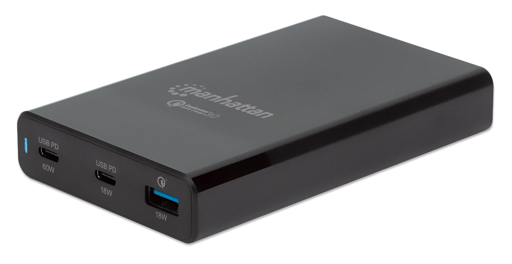 Stazione di ricarica USB-C™ PD 65W Nero