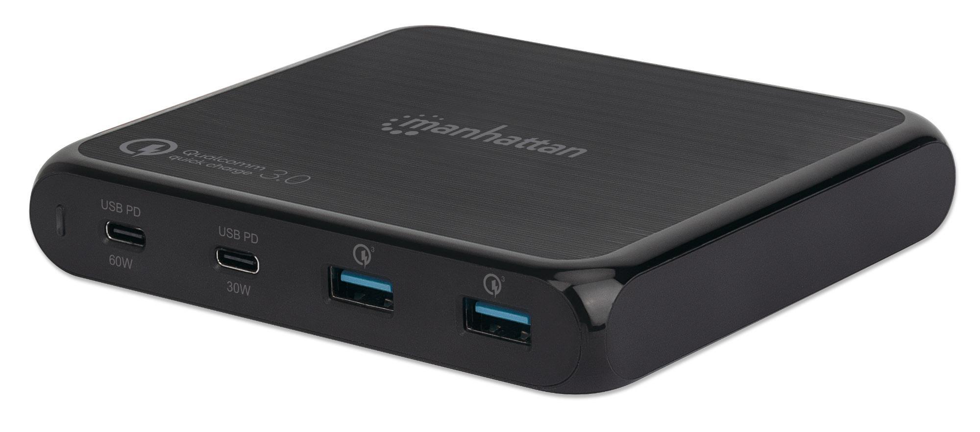 Stazione di ricarica USB-C™ PD 90W Nero
