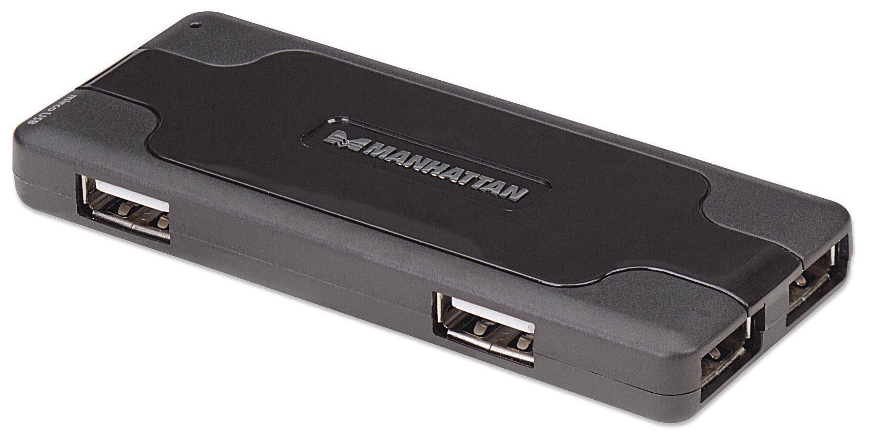 Mini Hub USB 2.0 alta velocità 7 porte