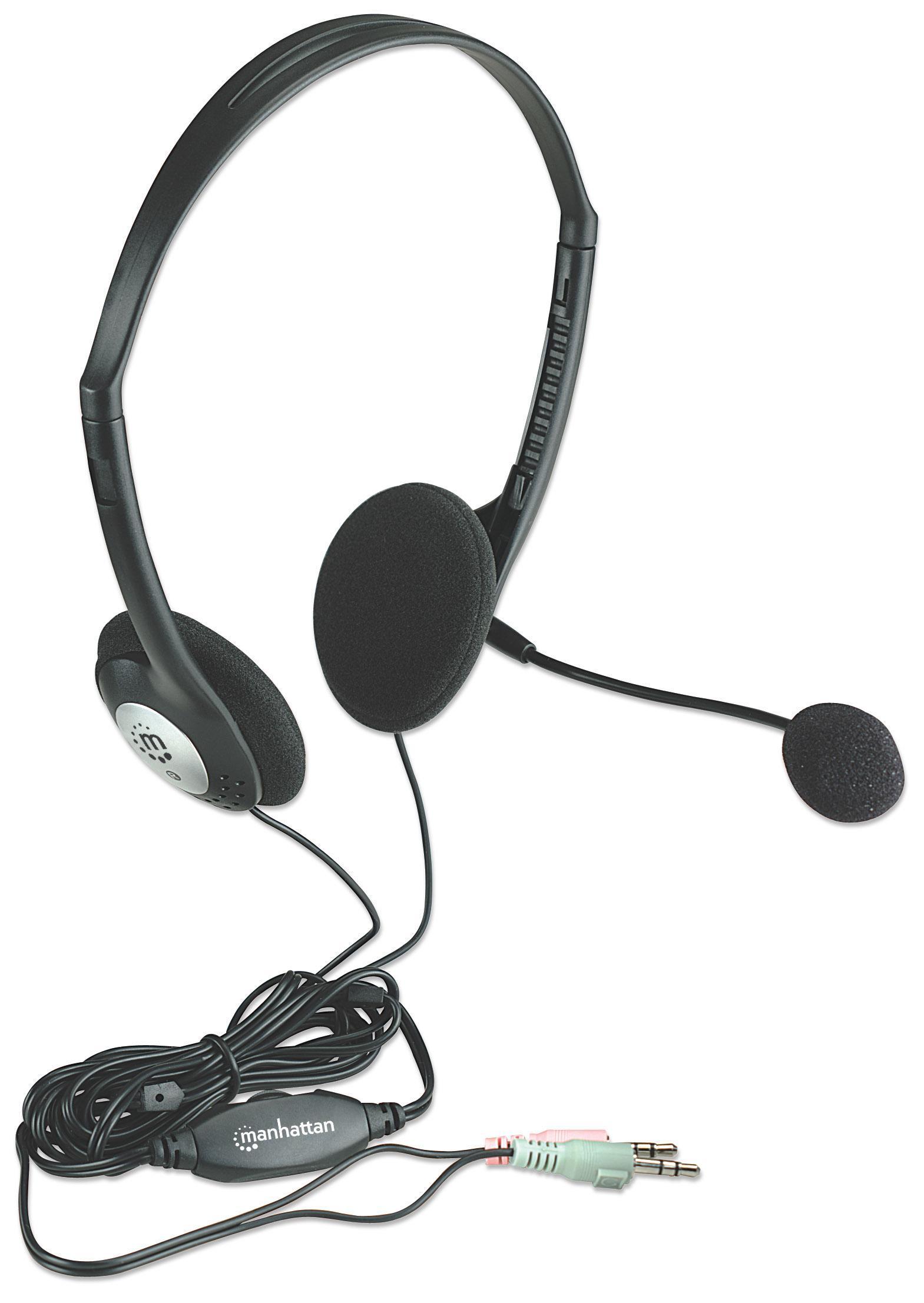 Cuffie Stereo con Microfono e Regolazione del V...
