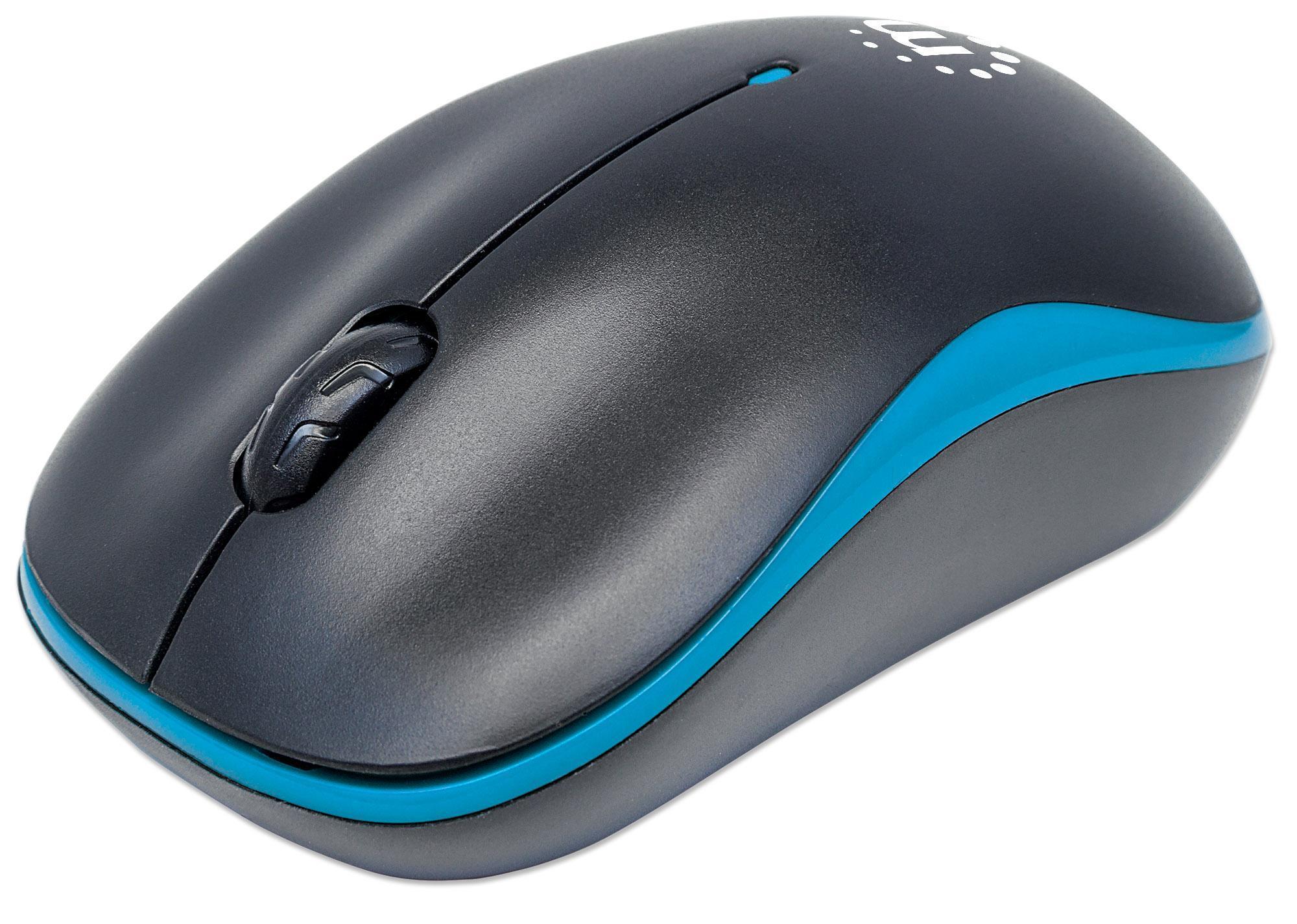 Mouse Ottico Wireless con Micro Ricevitore USB ...