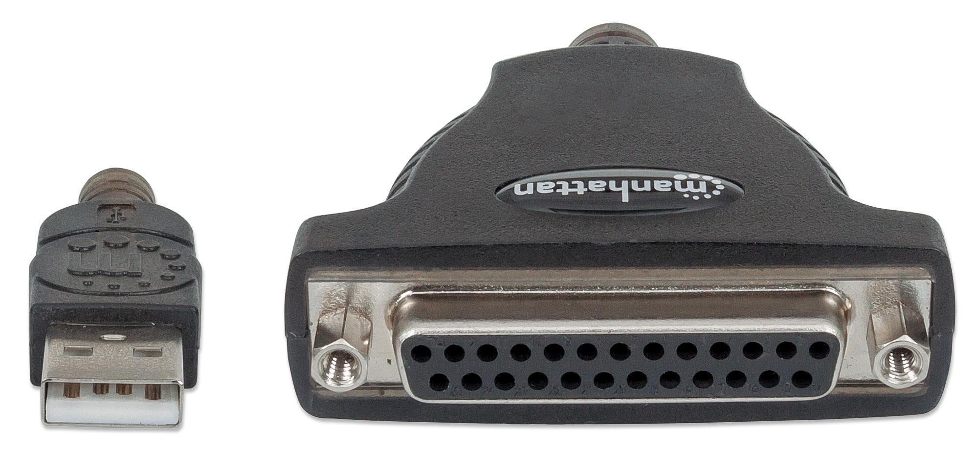 Convertitore USB a Stampante Parallela DB25 F