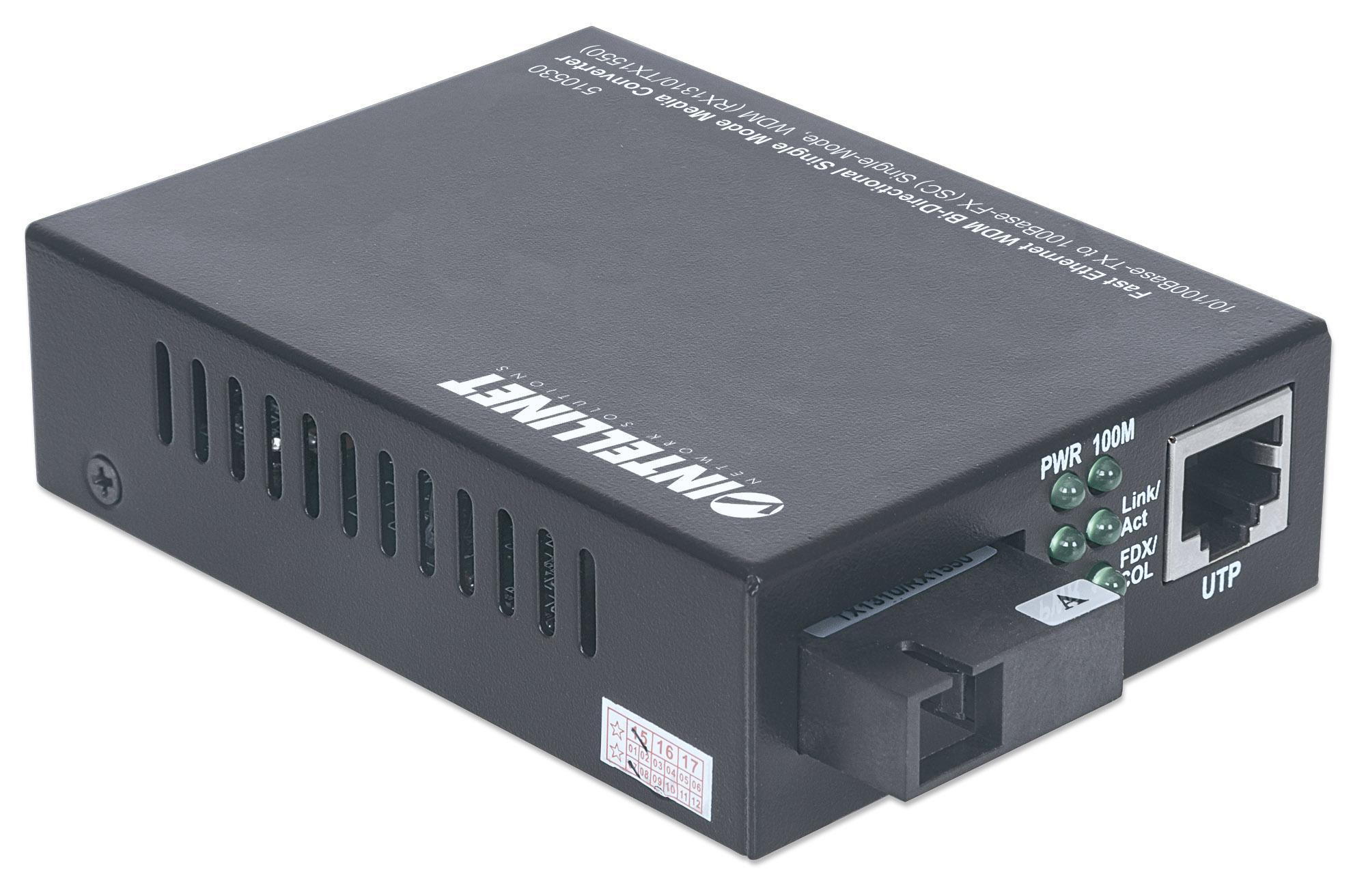 Convertitore per Supporti WDM RX1310/TX1550 Fa...