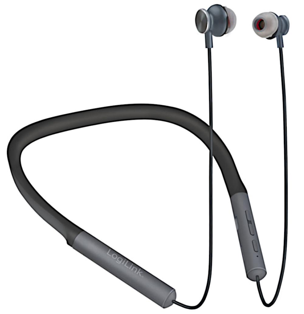 Auricolari Bluetooth con Archetto da Collo Magn...