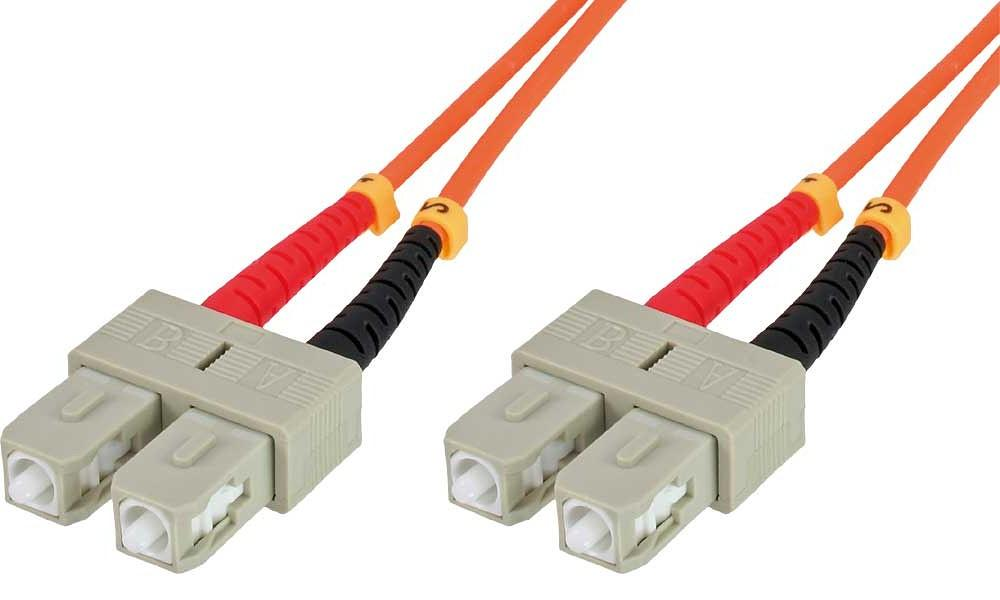 Cavo fibra ottica SC/SC 62,5/125 Multimodale 2 ...