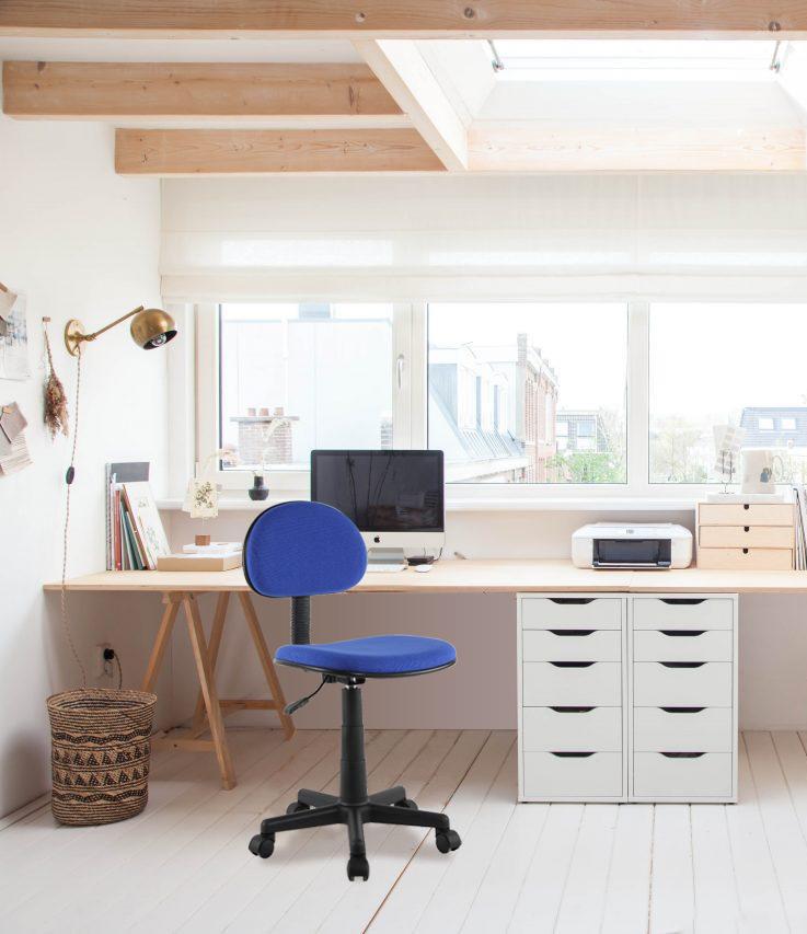 Sedia Per Ufficio Colore Blu Sedie Per Ufficio Arredamento Ufficio Ufficio