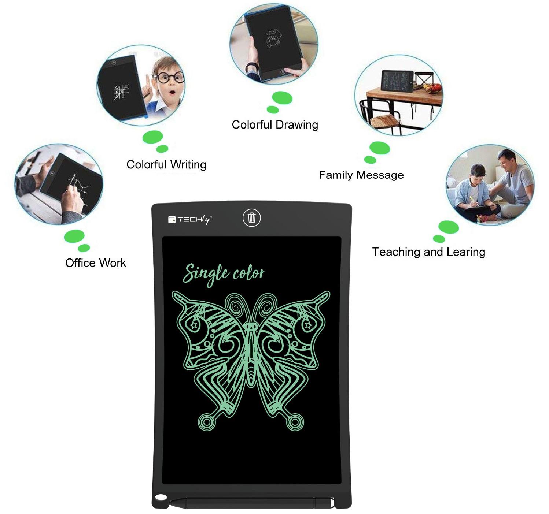 Tavoletta Grafica LCD 8,5'''' per Scrittura e D...
