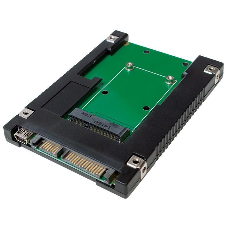 Adattatore da SSD mSATA a SATA 2.5''''