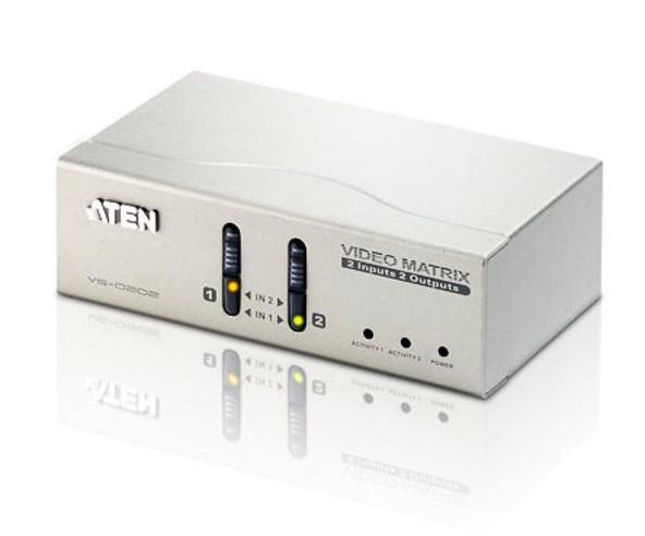 Matrix Switch Video 2 IN 2 OUT VGA con Audio, V...
