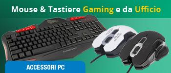 Mouse e Tastiere da Gaming e da Ufficio
