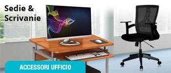 Sedie e scrivanie per ufficio