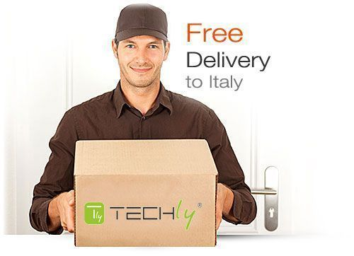 Techly: Free Shipping to Italy